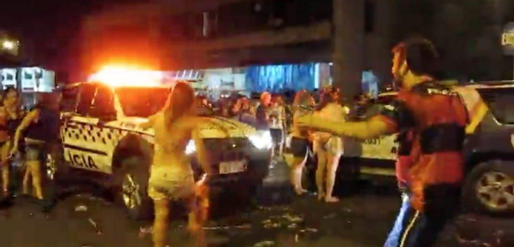 balaio 1024x493 - Dois lados: O Carnaval, O Balaio, a Polícia Militar e os esquerdopatas