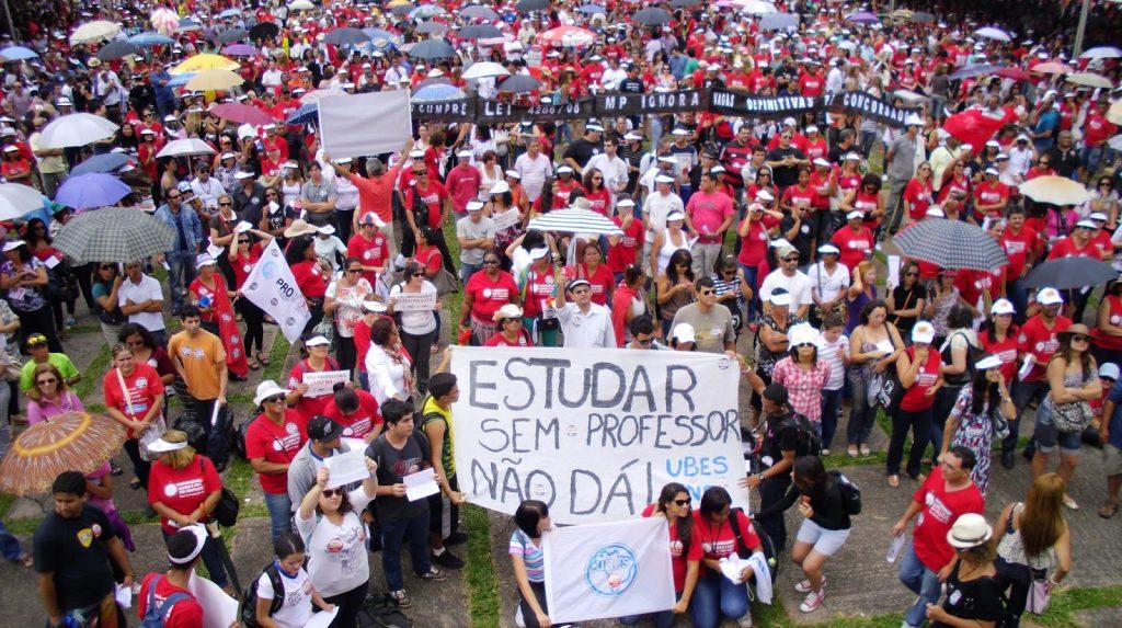 greve 1024x573 - Educação em estado de greve