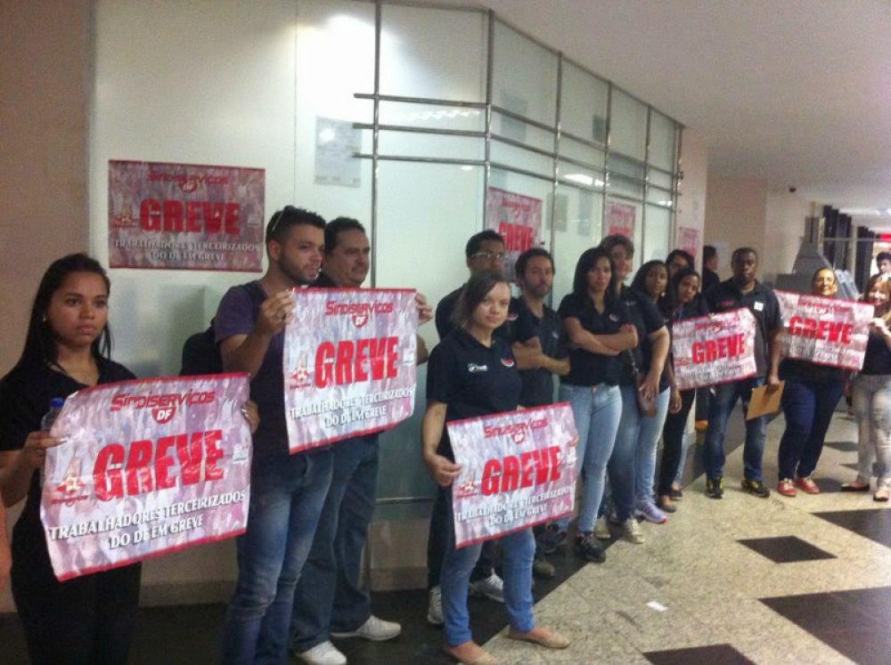 grevepaulista - Sem pagamento terceirizados do Dftrans vão entrar em greve