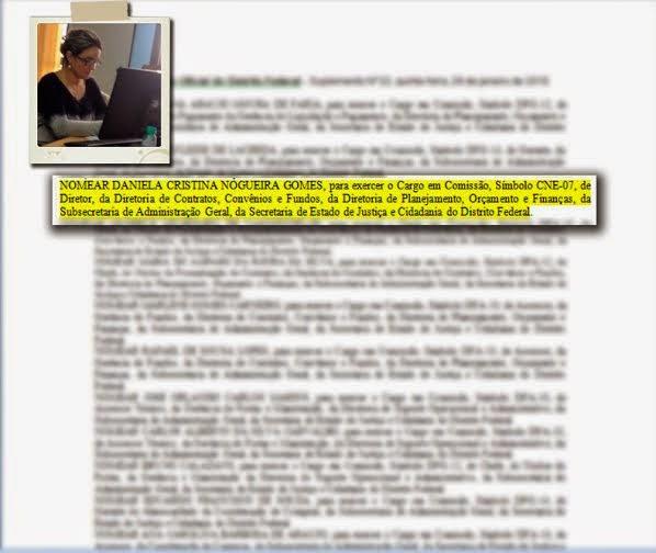 noemeacao 1 - PSDB-DF e Secretaria enviam notas e esclarecem nomeação de funcionária