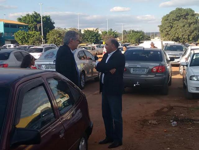 dantasewel - Governador tenta estancar crise com reunião