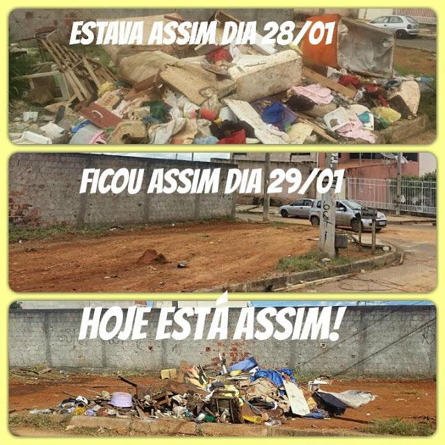 lixoo - Moradores sem consciência causam caos