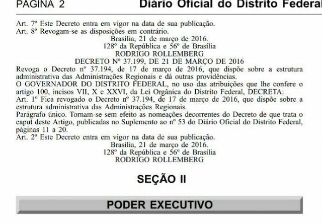 decre - Decreto anulado agita bastidores
