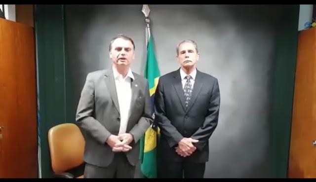 IMG 3573 - General recebe apoio de Bolsonaro na corrida ao Buriti
