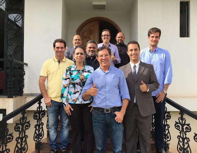 IMG 3585 - Alírio se reúne com pré-candidatos e diz que não abre mão do Buriti