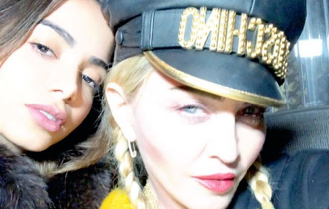 anitta madonna radiocorredor - Anitta quebra a internet em foto no Instagram