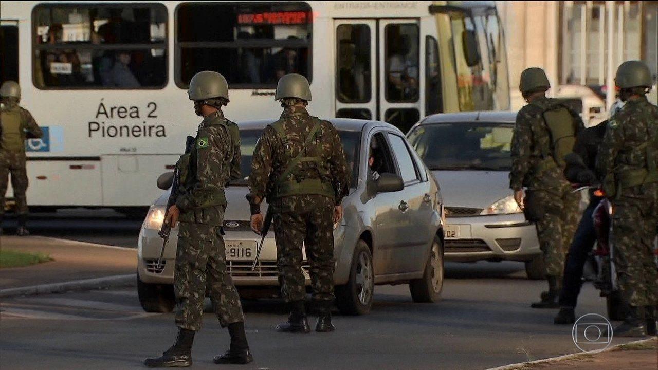 Forças Armadas provocam mudanças no Rio de Janeiro