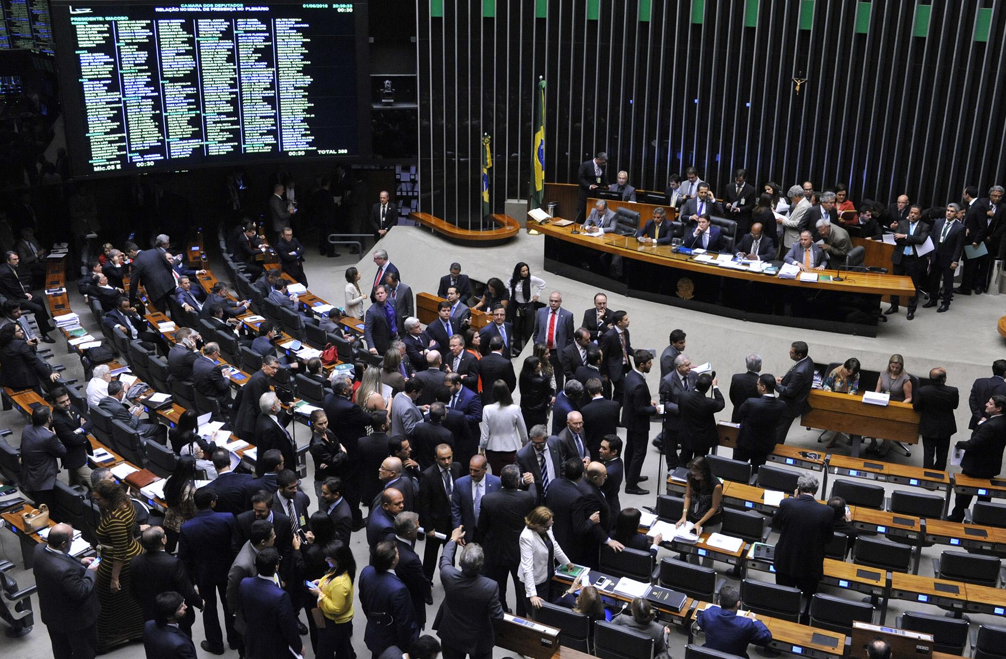 plenario câmara federal radio corredor - Velha prática na 'política nova'