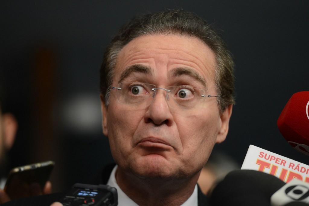 Renan Calheiros bia kicis presidente senado radio corredor - Cassação de Renan Calheiros