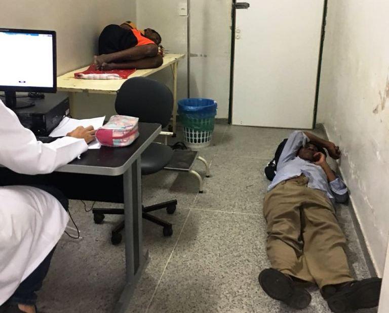 caos uti taguatinga hospital radio corredor - Devassa na gestão pessoal da Saúde do DF
