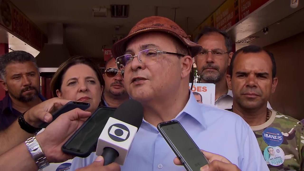 governador ibaneis rocha rodrigo rollemberg radio corredor - A 'caixa-preta' do BRB, segundo Ibaneis