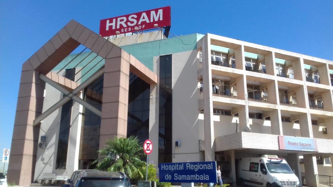 hospital samambaia paciente justiça radio corredor - Abandonada pelo SUS, paciente do DF toma toco da justiça
