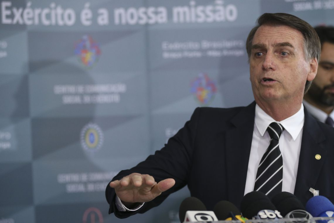 Antes de posse, Bolsonaro manda recado