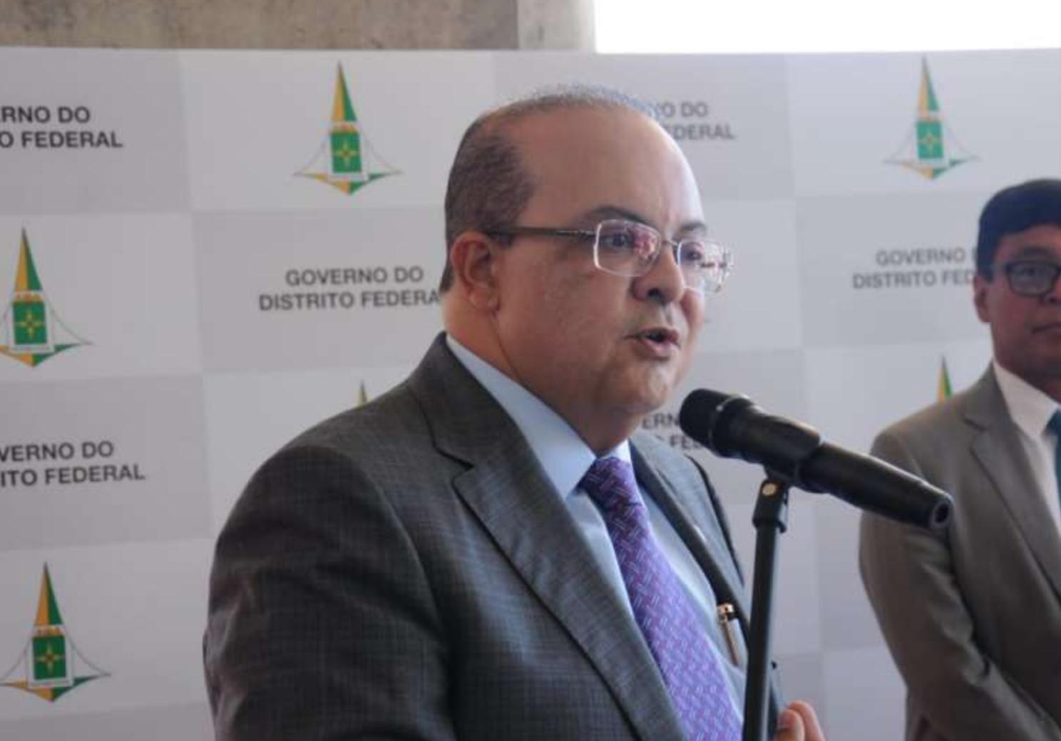 rocha ibaneis governador gdf radio corredor - Ibaneis repete: Dinheiro tem, o que falta é gestão