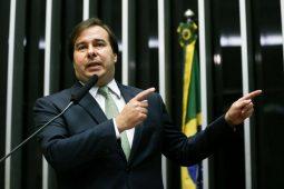 Rodrigo Maia terá apoio do PSL