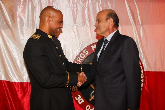 corpo bombeiros paco brito radio corredor - Sem Ibaneis, novo comandante assume CBM