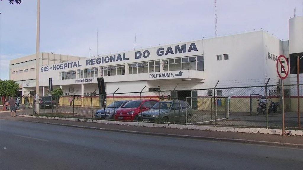 hospital gama radio corredor 1024x576 - Confusão em hospital do DF tem até ameaça de faca