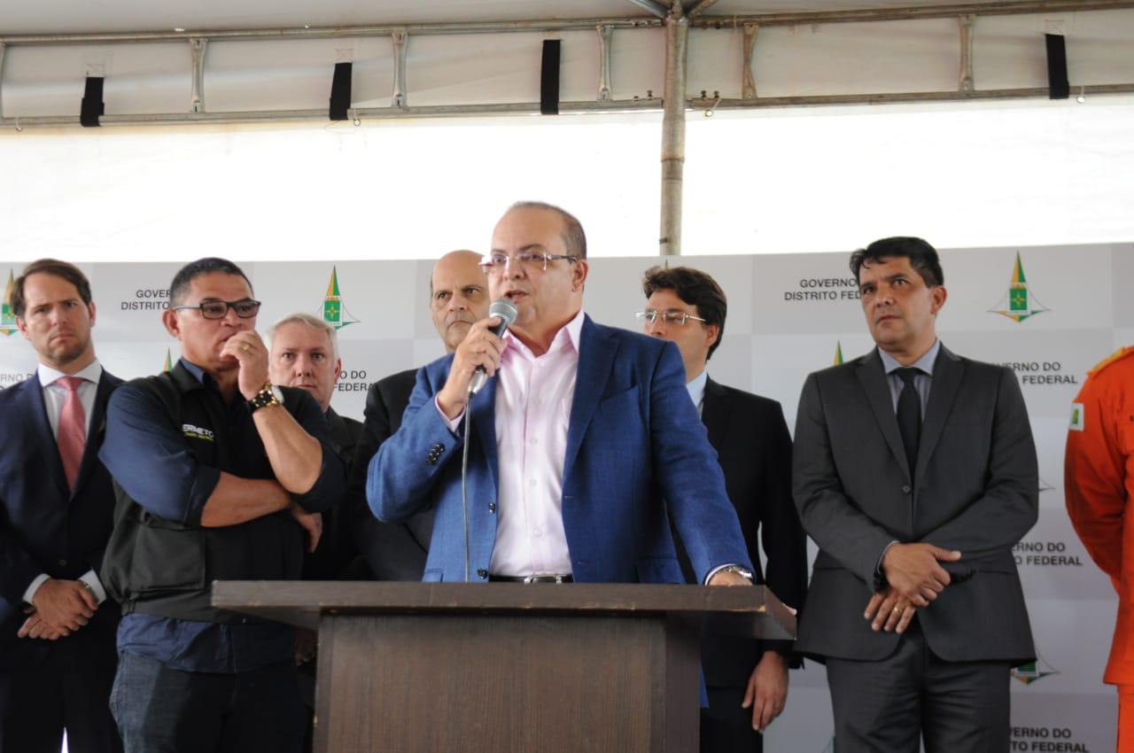 segurança delegacia ibaneis rocha radio corredor - A base de Ibaneis está fragilizada
