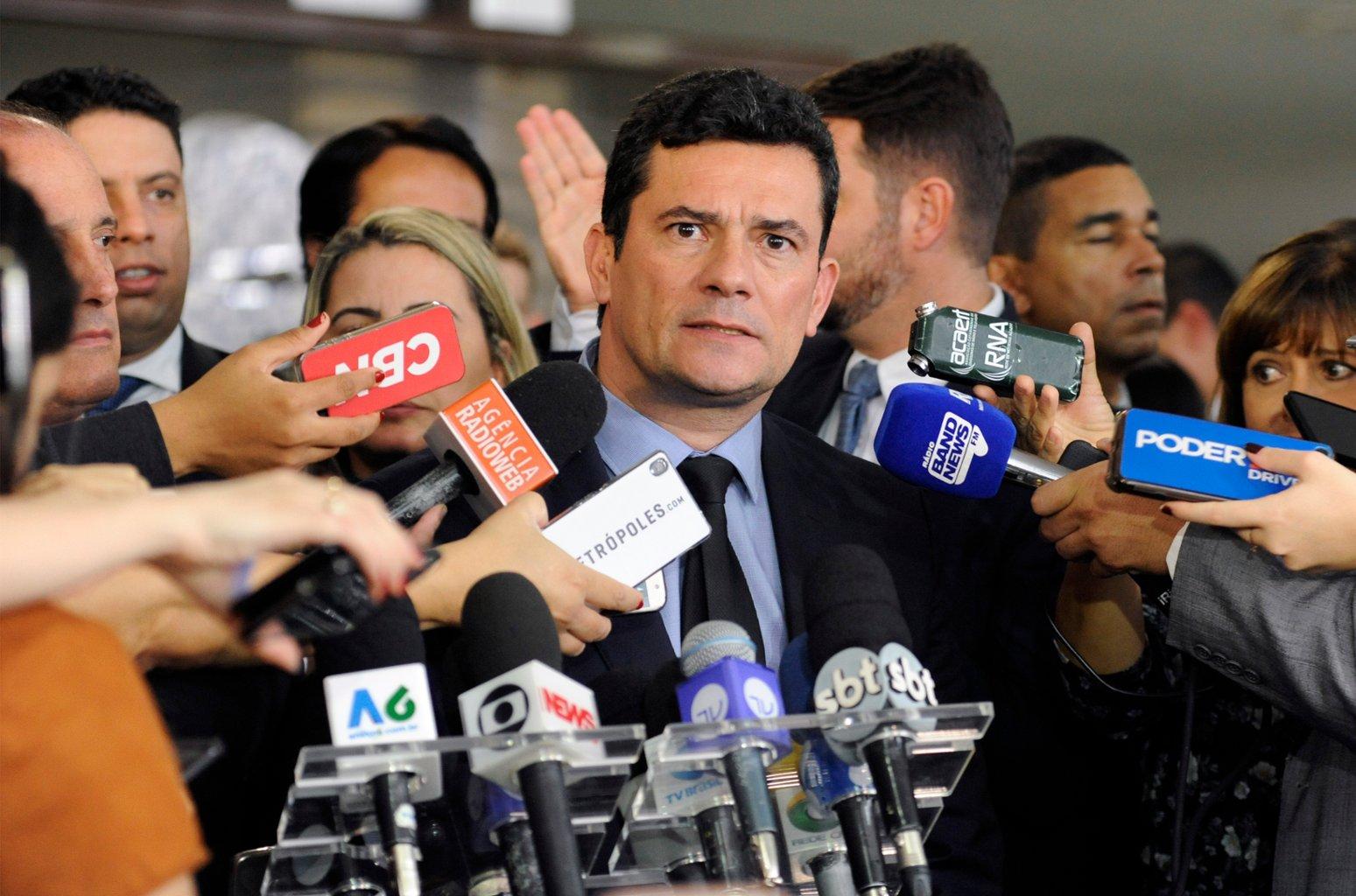 sergio moro ministro justiça anticrime radio corredor - Moro no Senado
