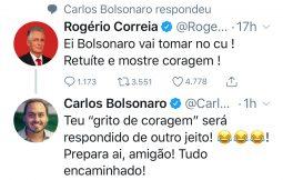 Deputado manda Bolsonaro tomar naquele lugar