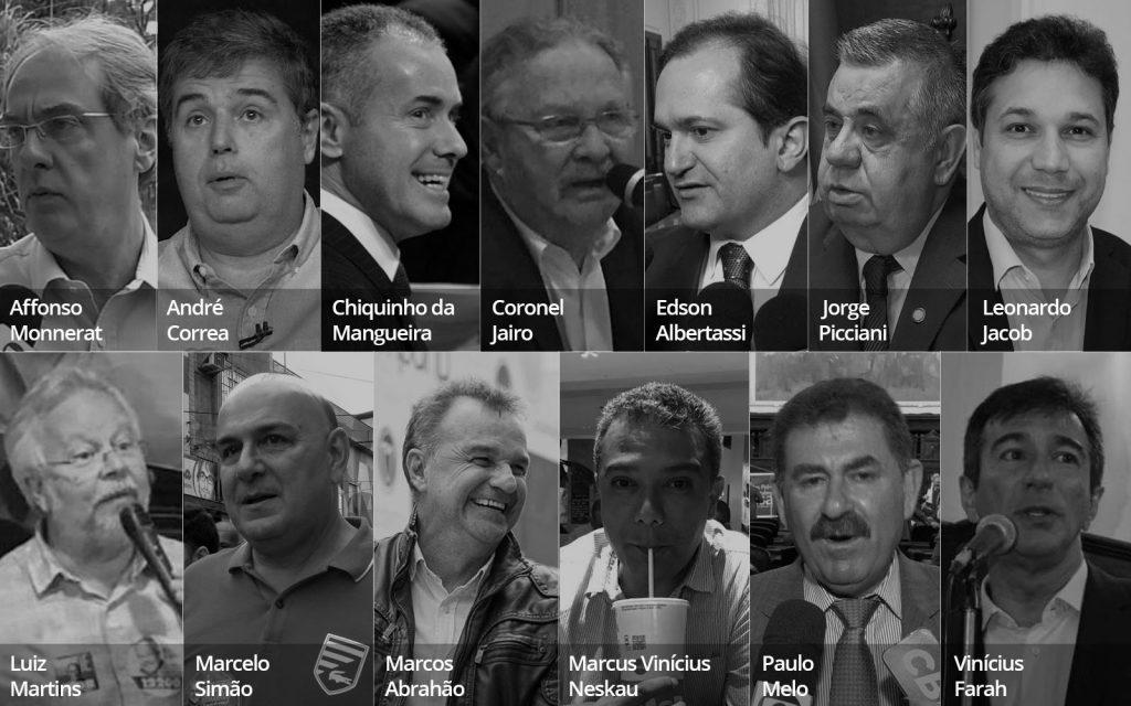 deputados presos alerj radio corredor 1024x640 - Deputados do Rio tomam posse na cadeia