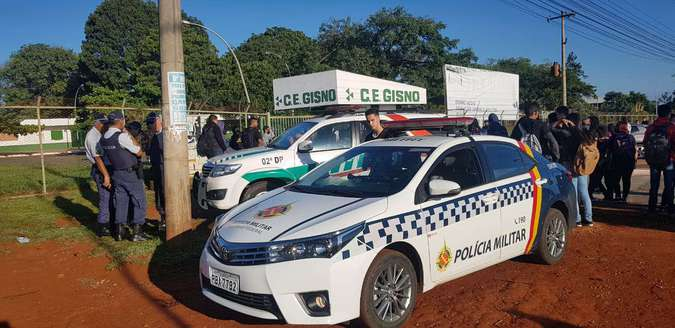 escola bomba cisnoradiocorredor - Investigações apontavam atentado em escola pública do DF