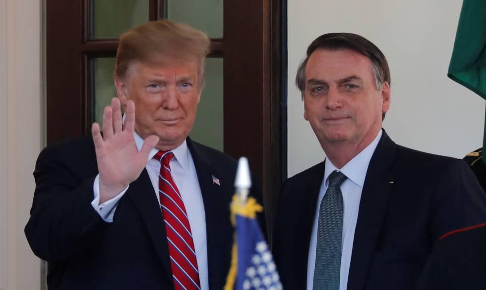 trump bolsonaro imigração radio corredor - A contrapartida de Trump