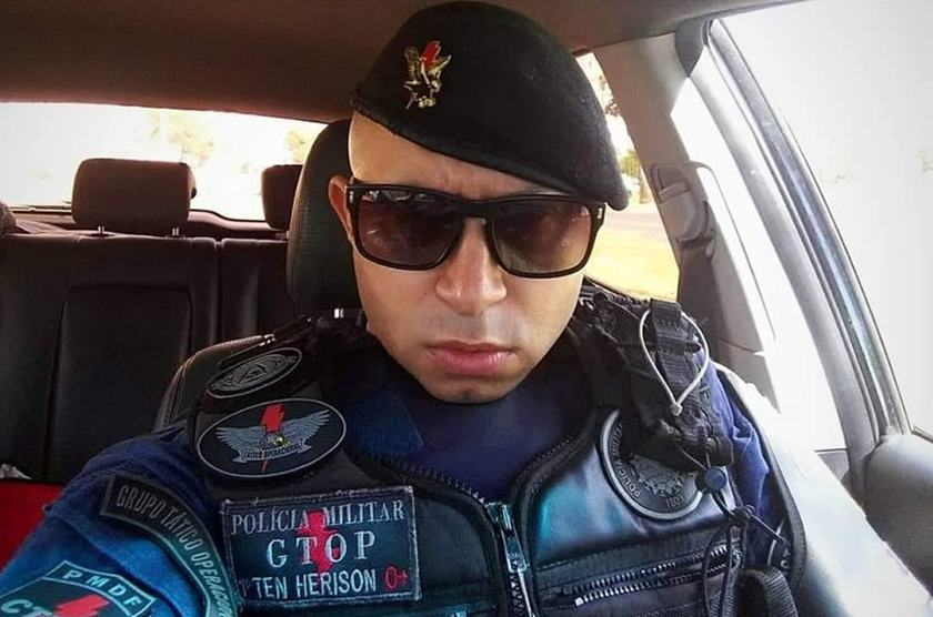 Policias trocam tiros em boate no DF (Foto: Reprodução)