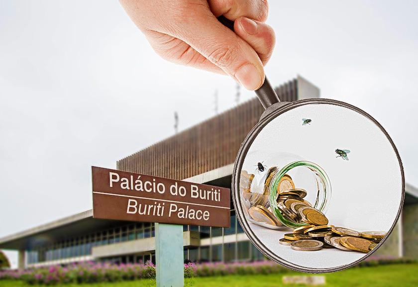 WhatsApp Image 2019 04 02 at 17.01.46 - Palácio do Buriti contando as moedas