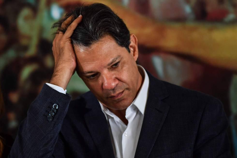 Haddad aponta erro do PT (Foto: Nelson Almeida/AFP)