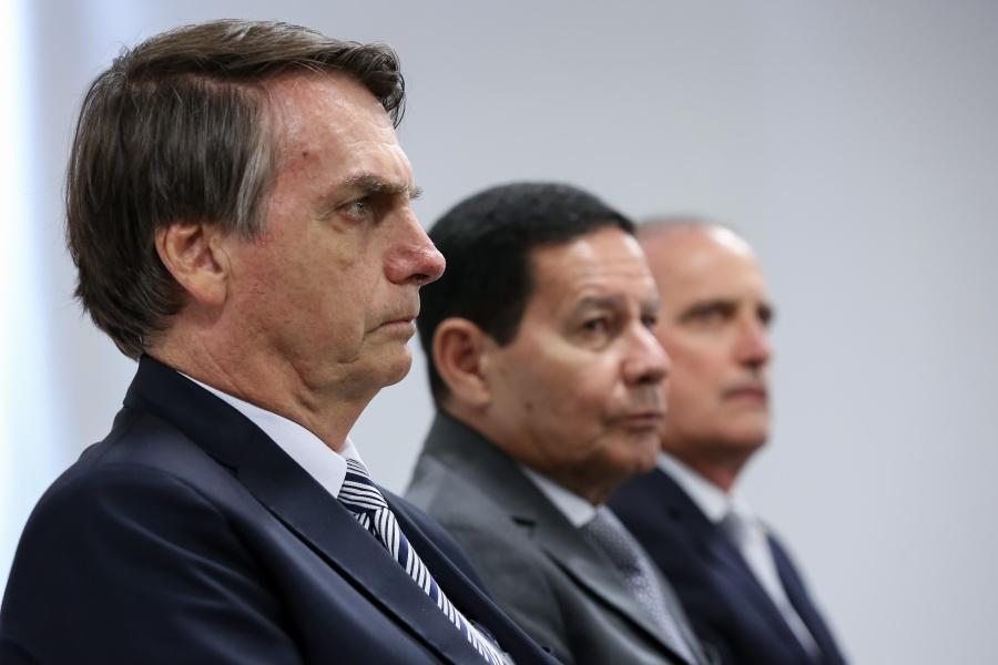 Diesel no chopp de Bolsonaro (Foto: Marcos Corrêa/PR)