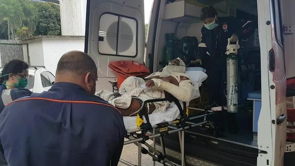 morador de rua corpo quemado radio corredor - Maldade ilimitada: morador de rua tem corpo queimado