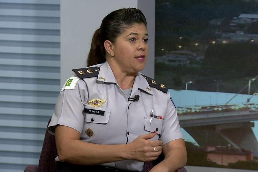 Prestígio pra a PM mulher (Foto: Reprodução TV Globo)