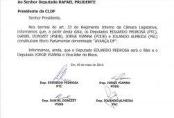 Diário oficial cldf novo bloco radio corredor 251x170 - O bloco, Renato e o Robério 'expulso'