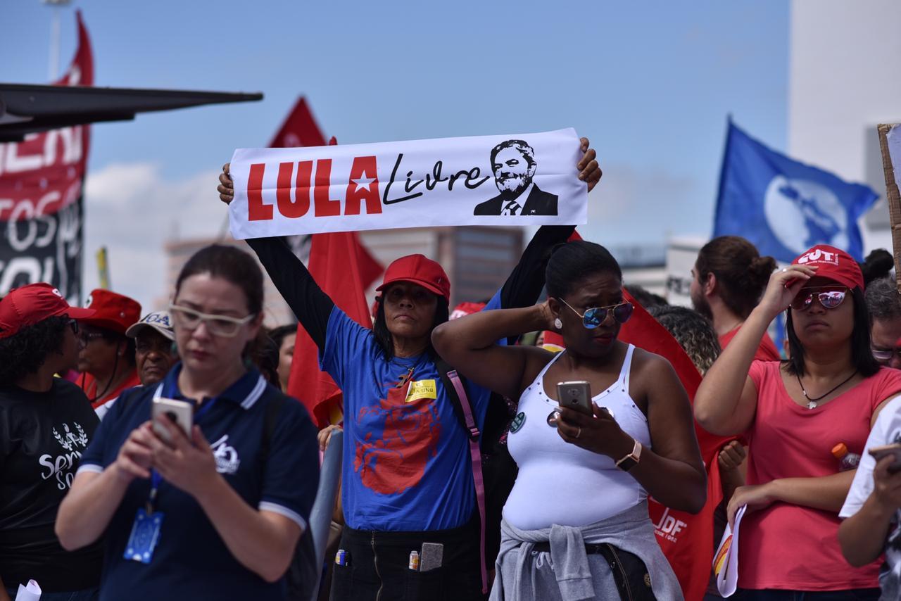 Protesto contra o corte? (Foto: André Borges/Metropoles)