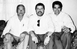 Lula na casa de Hélio José