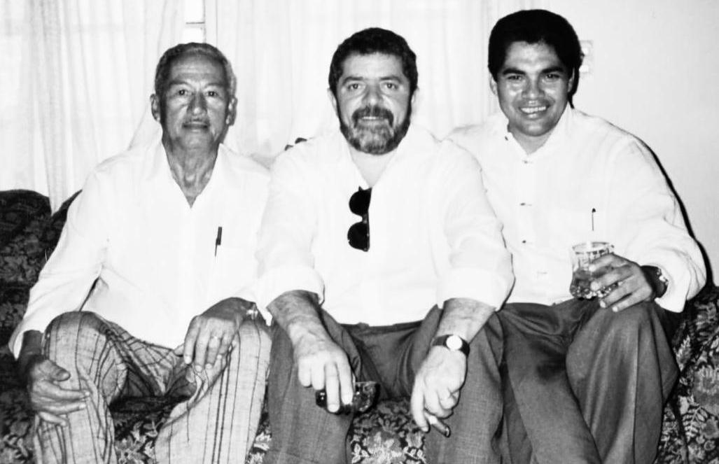 helio jose pai lula radio corredor - Lula na casa de Hélio José