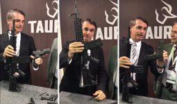 Proposta pode tirar armas do Congresso e STF