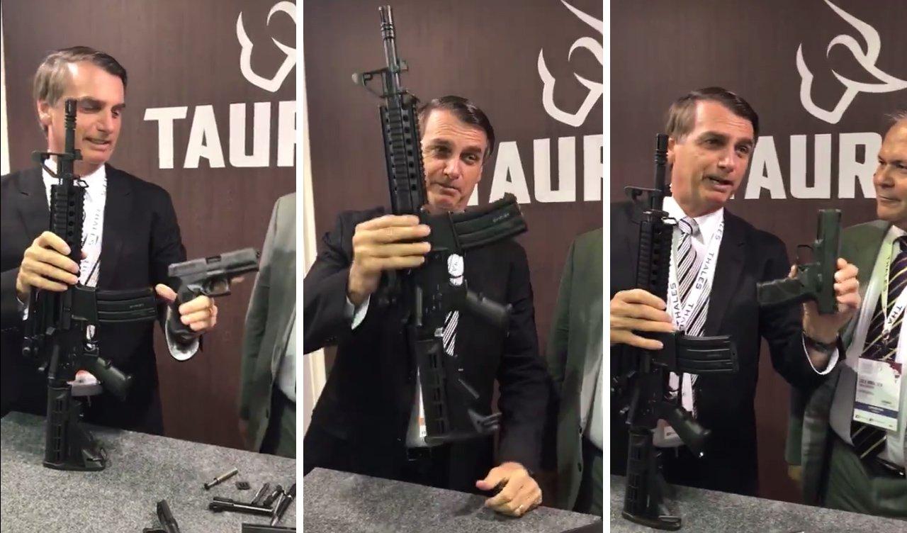 jair bolsonaro arma decreto radio corredor - Novo decreto sobre armas