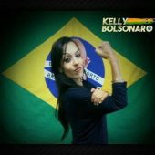 A primeira confusão com Kelly Bolsonaro
