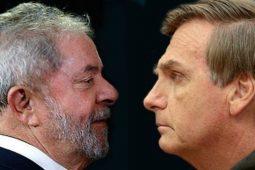 Distritais Bolsonaro e Lula (Foto: Reprodução Veja)