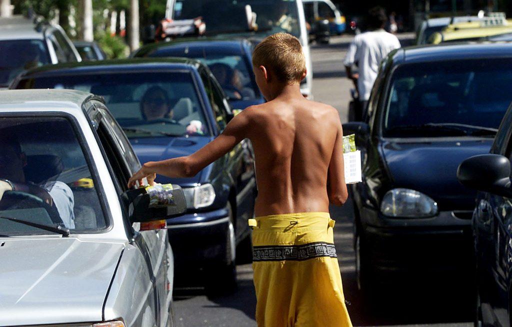 Trabalho infantil (Foto: reprodução de reportagem da Codeplan)