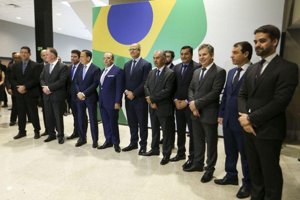 Com Ibaneis, governadores vão para a batalha (Foto: Marcelo Camargo/Agência Brasil)
