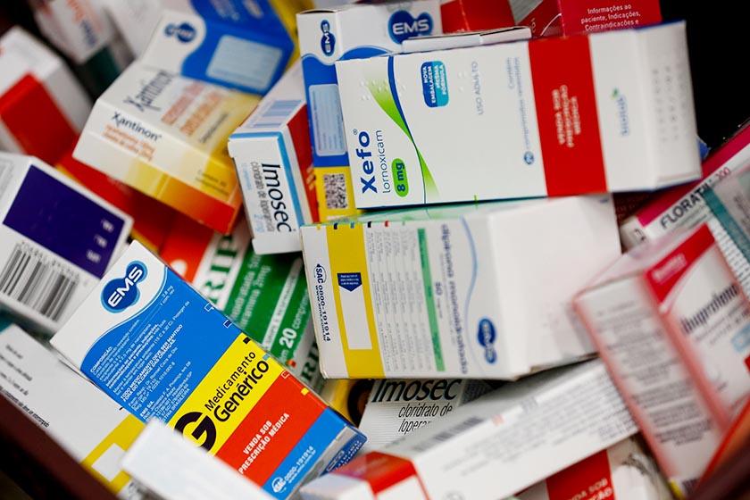 Remédios de graça nas farmácias (Foto: Daniel Ferreira/Metrópoles)