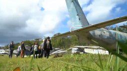 Ministra denuncia aviões da Funai abandonados