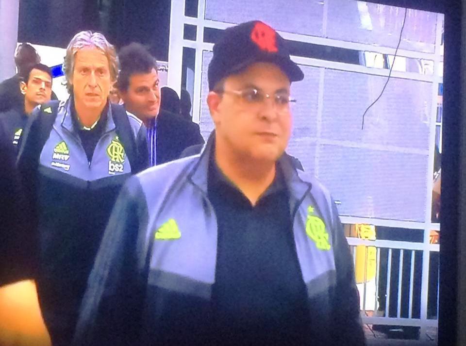 ibaneis no equador flamengo radio corredor - Ibaneis presidente do Flamengo?