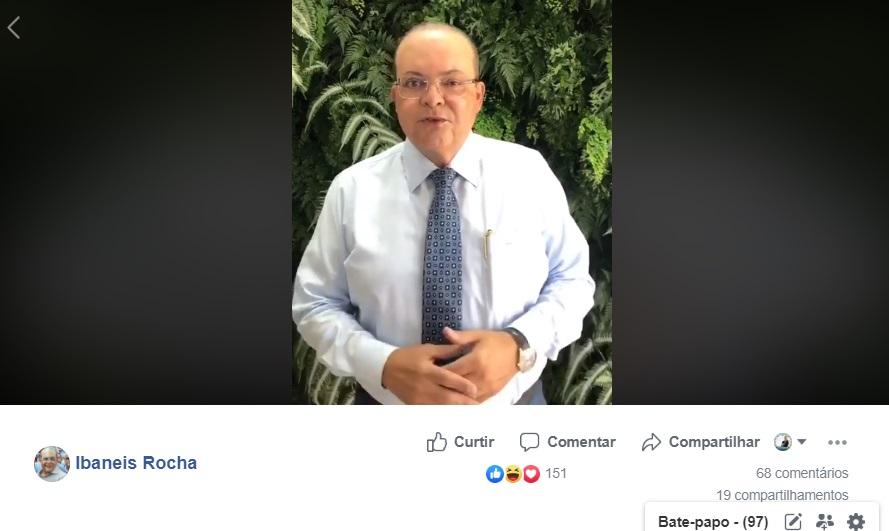 Ibaneis pede desculpas - Ibaneis pede desculpas