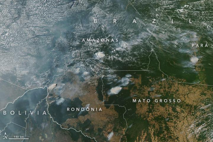 aqua nasa radio corredor - Maia criará comissão de acompanhamento de queimadas