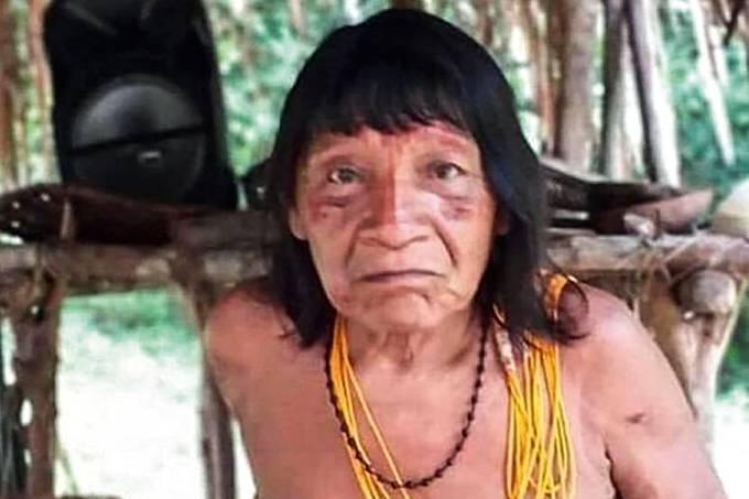 cacique Emyra Waiãpi - Cacique não morreu por facadas, diz laudo