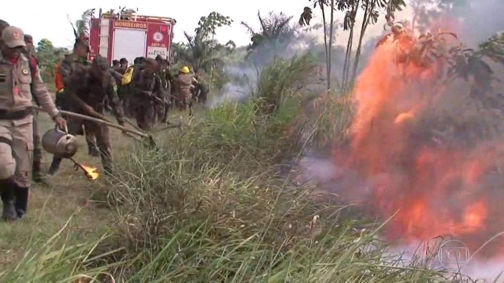 queimadas amazonia radio corredor 1024x576 - Polícia do Pará identifica suspeitos de provocar queimadas na Amazônia